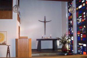 Innenansicht der Kapelle